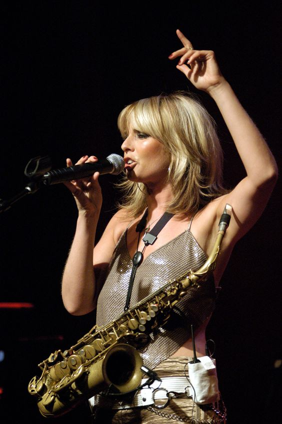 Candy Dulfer is a Dutch saxophonist whose stage presence is as jazzy as her music.