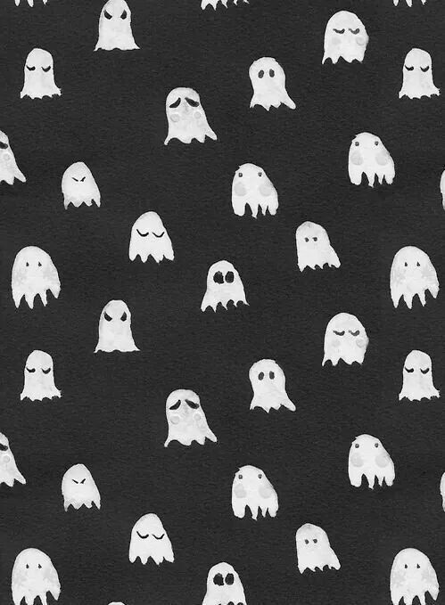 Background Black Cute Funny Ghosts Halloween Scary Wallpaper Wallpapers White Cute Black Wallpaper Halloween Wallpaper Fall Wallpaper