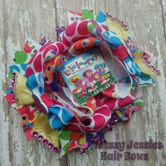 Sooo adorable and great price too!! Messy Jessies Hair Bows on facebook!