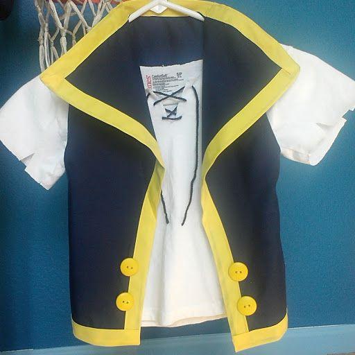 Jake and the neverland pirates costume tutorial craft