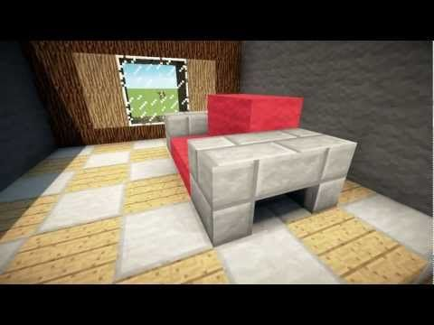 See Some Amazing Minecraft Couch Designs And Other Seating Ideas Couch Furniture Couch Design Bedroom Decor