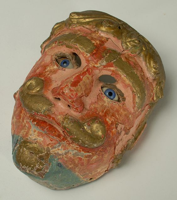 Moro Mask | Colonial Arts
