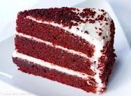 If you make me a red velvet cake we go together
