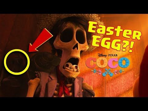 Disney Coco Easter Eggs Everything You Missed Youtube Easter Eggs Coco Easter