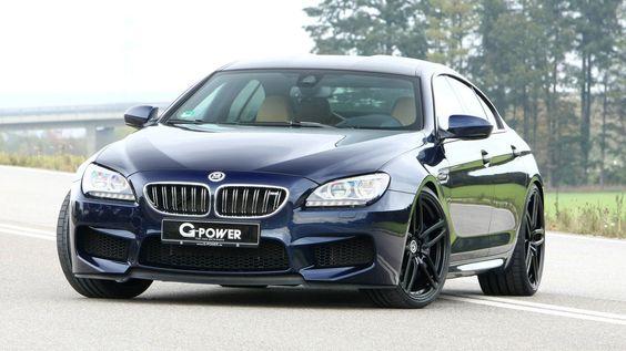 G-Power BMW M6 Gran Coupé: 740cv para a família!