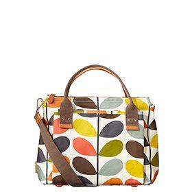 Nautical Multi Stem Print Handbag Multi