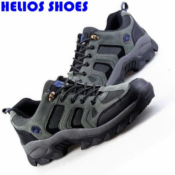 (Buy here: http://appdeal.ru/31eq ) outdoor waterproof breathable men casual shoes leisure trekking walking casual shoes men climbing senderismo shoes ankle boots for just US $38.69
