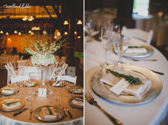 Goodwood Museum & Gardens Wedding | Tallahassee Wedding Photographer | Goodwood House | Amy Smith Papaya Wedding Planning | centerpieces | tall vase flowers and decor | platinum plate chargers