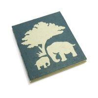 A Journal made from Elephant Poop. Yes, really! Its sustainable, recycled, odorless and ecologically sound. Cute too!