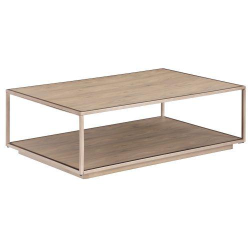 Palliser 817 050 Lilah Beige Rectangular Cocktail Table With