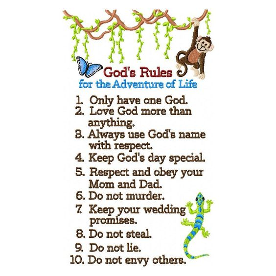 Commandment Print Ten Clip Art Clipart - The Ten Commandments 2 - ten resume writing commandments