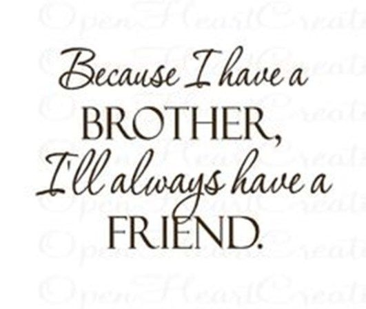 The 100 Greatest Brother Quotes And Sibling Sayings My Brother Quotes Cute Brother Quotes Brother N Sister Quotes