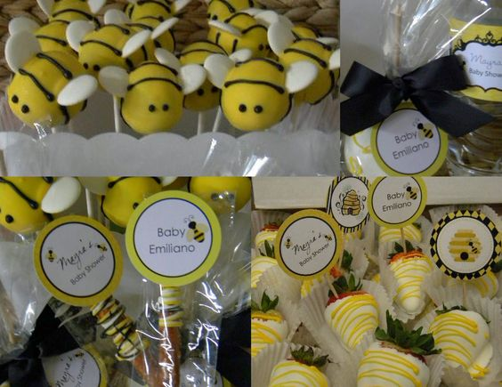 16 Best Baby Bee Themed Shower Images On Pinterest