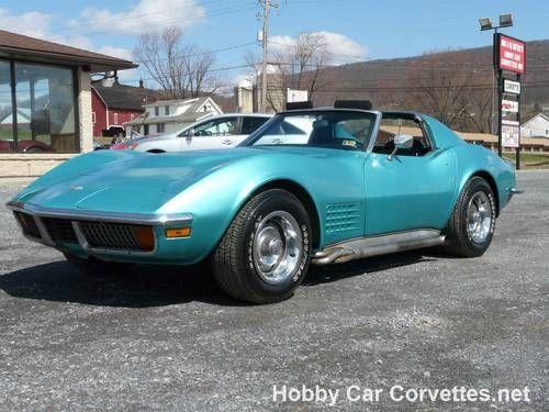 PICS] Lavender Turquoise Wrapped Corvette Stingray is a Multi ...