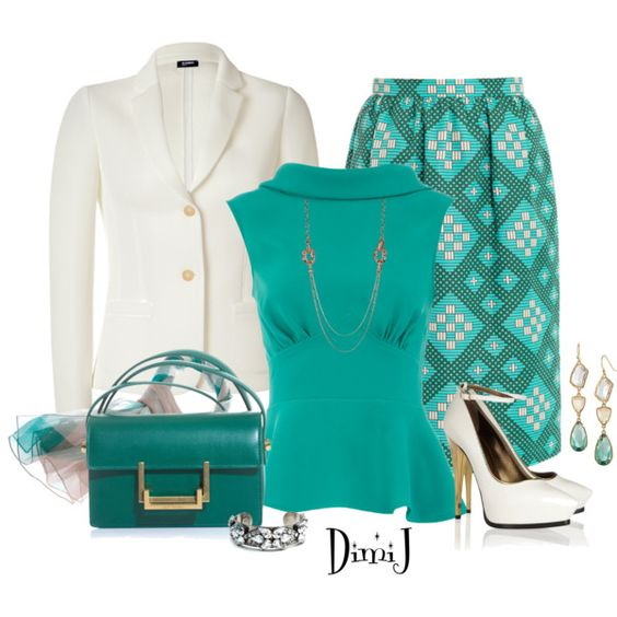J.S.R. Skirt by dimij on Polyvore