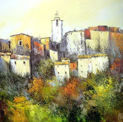 Manuel rubalo peinture l 39 huile au couteau peinture au - Pinterest peinture a l huile ...