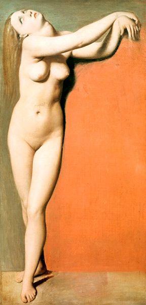 Jean Auguste Dominique Ingres-Angelique
