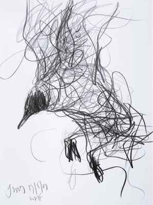 """i like this.. it reminds me of early elementary school when I was asked to draw a """"scribble bear"""" for an assignment."""