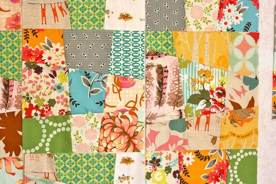 Wonky nine patch | I used Elizabeth's awesome wonky nine pat… | Flickr