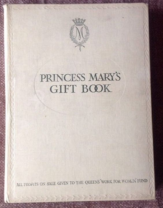 Antique c.1914 Princess Mary's Gift Book by BuyfromGroovy on Etsy