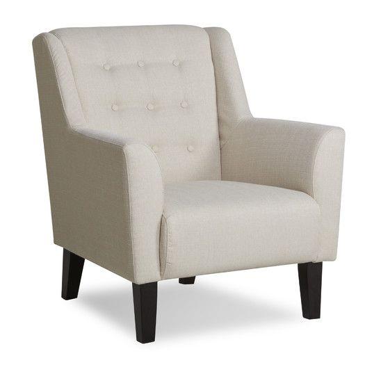 Gold Sparrow Providence Button Tufted Arm Chair | AllModern
