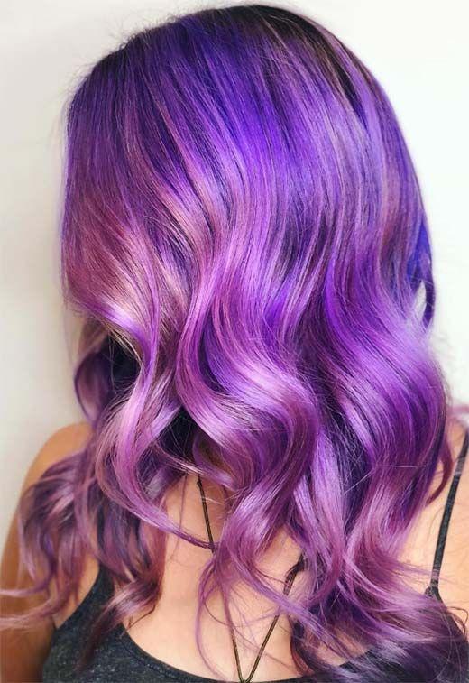36++ Purple hair color ideas info