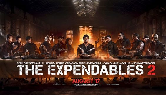 The Expendables 2 - Last Supper | Found on Daily Inspiration's Wall of Fame