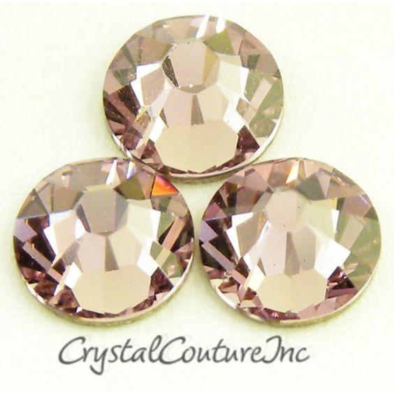 Crystal Couture | Swarovski ELEMENTS 2058 Rhinestones Lt Amethyst 30ss 1 Dozen