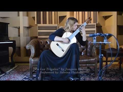 Sabrina Vlaskalic Performs En Los Trigales By Joaquin Rodrigo Mbgp Youtube Joaquin Music Producer Classical Guitar