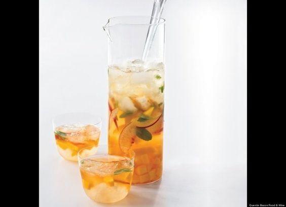 Mango-peach sangria http://huff.to/HTKIFj