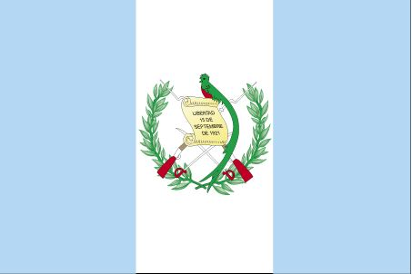 Country Flags: Guatemala Flag