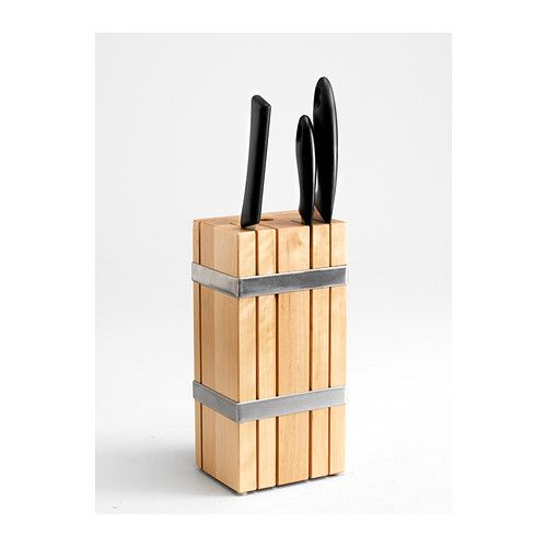 knife block ikea and knives on pinterest