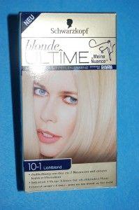 Blonde Ultime Haarfarbe 10-1 Lichtblond von Schwarzkopf
