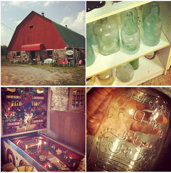 RED ROCK ANTIQUES ... Antiquing Red Barn in Fenelon Falls: | from Aubrey + Lindsay's Blog