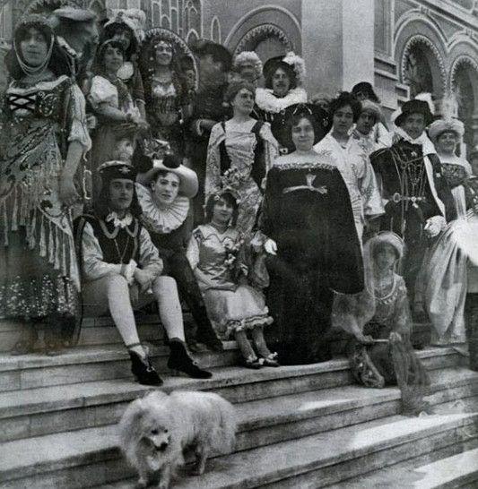 Baile en el palacio Concha Cazotte
