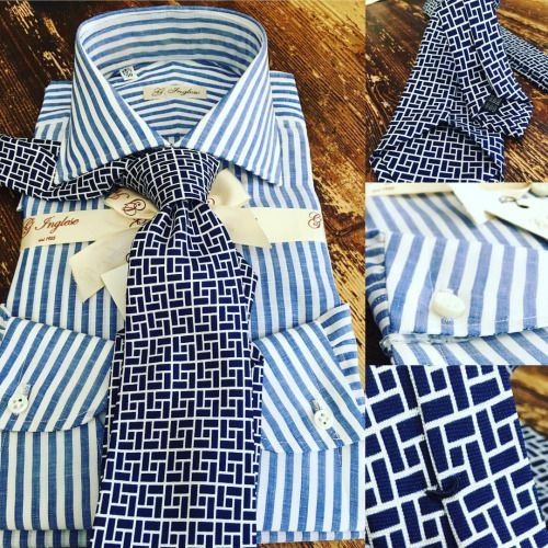 "ginglese: ""#handmade #shirt And #ties """
