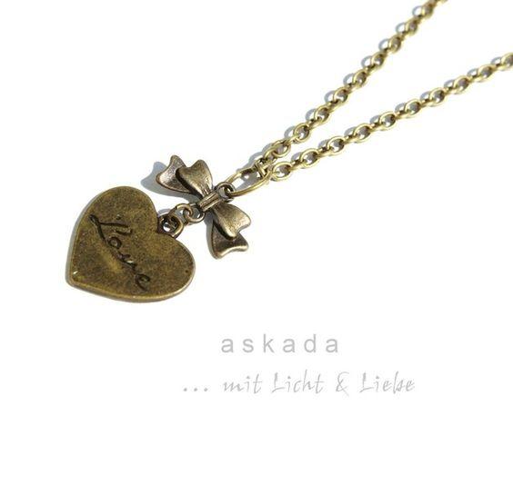 Necklace # Kette # Vintage # Heart # Herz # Jewelry # Schmuck