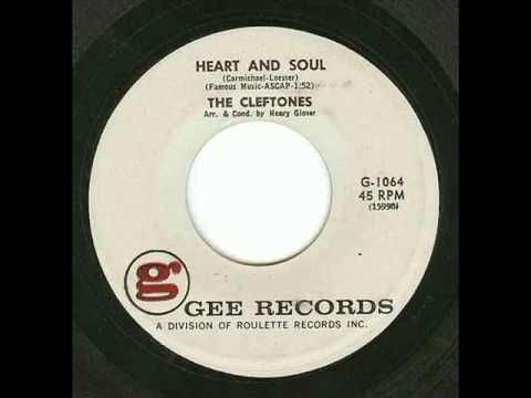 The Cleftones   *Heart and Soul*   1961 - YouTube