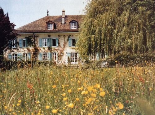 La Paisible, Audrey Hepburn's home in Switzerland.