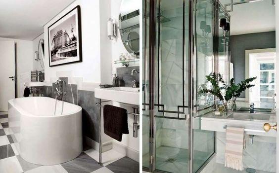 Arredamento in stile anni 20 - La stanza da bagno anni '20