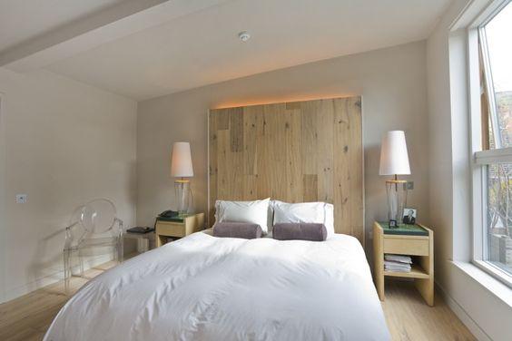 Hacer un cabecero de cama con palets dormitorios - Camas con palets ...
