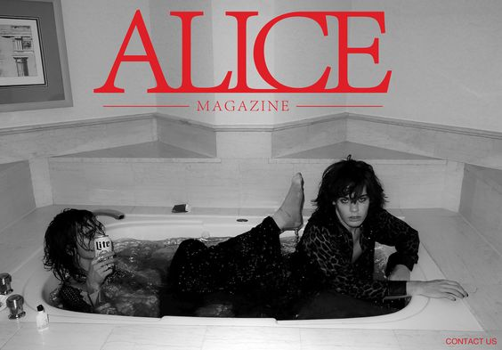 Alice Magazine NYC only 2 issues, alternative fashion and music