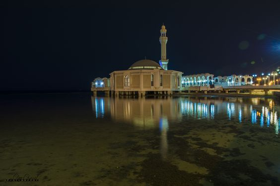 Floating Mosque by Clive Chanel on 500px