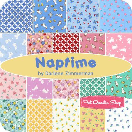 Naptime Charm Pack Darlene Zimmerman for Robert Kaufman Fabrics - Fat Quarter Shop