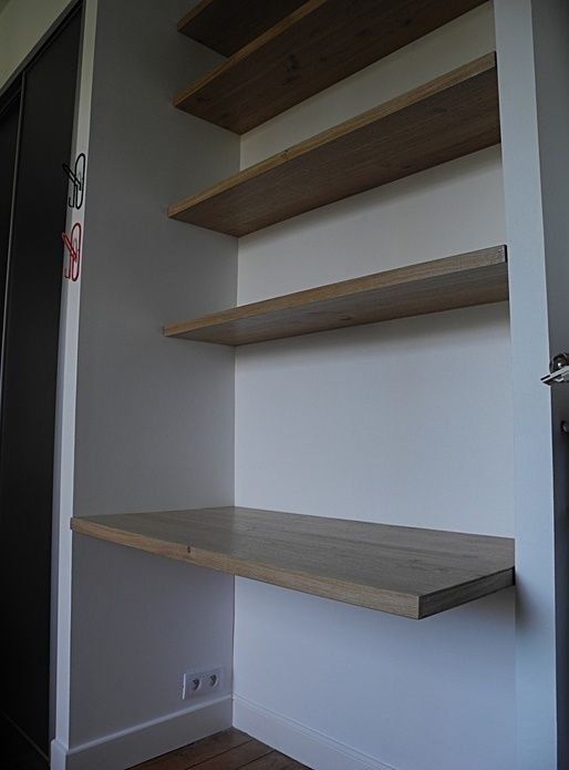 etagere murale fixation invisible
