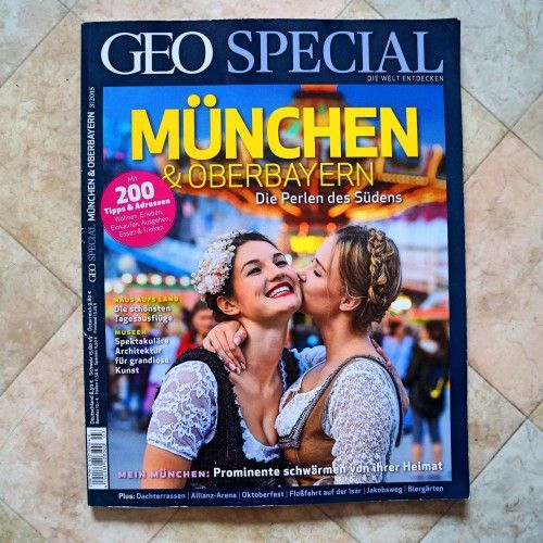 Magazintipp: GEO Special München and Oberbayern