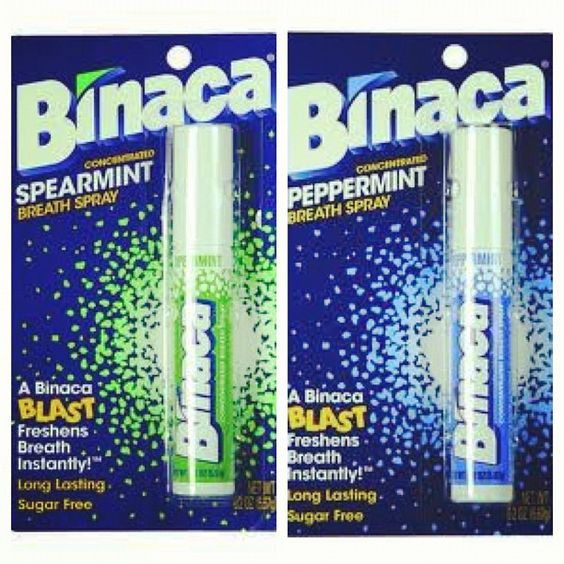 There's no Wikipedia page for Binaca.