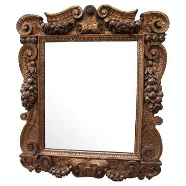 Check out this item at One Kings Lane! Carved Gilt Wood Mirror