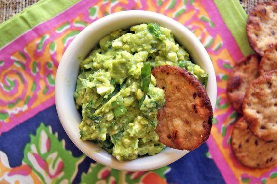 Basil and Feta Avocado Spread: An easy twist on guacamole.