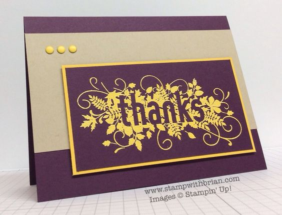 Seasonally Scattered, Stampin' Up!, Brian King